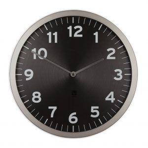 """UMBRA Часовник за стена """"ANYTIME"""" - черен циферблат"""