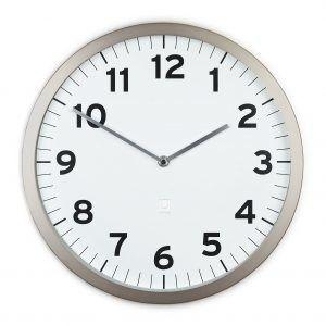 """UMBRA Часовник за стена """"ANYTIME"""" - бял циферблат"""