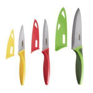 ZYLISS Комплект от 3 бр. ножове с дъска за рязане