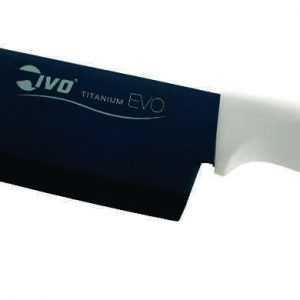 "IVO Cutelarias Нож ""Сантоку"" – 18см – бяла дръжка"
