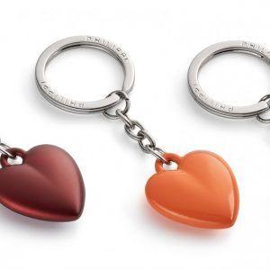 """PHILIPPI Ключодържател сърце """"COEUR"""" - цвят червен"""