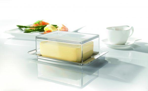 Кутия за масло с прозрачен капак