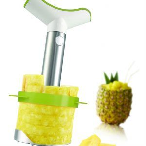 TOMORROW`S KITCHEN Стоманена резачка за ананаси с приставка за кубчета
