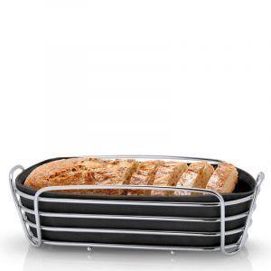 BLOMUS Панер за хляб продълговат DELARA - черен