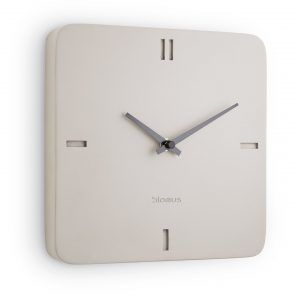 """BLOMUS Стенен часовник """"EPOCA"""" - цвят мръсно бяло"""