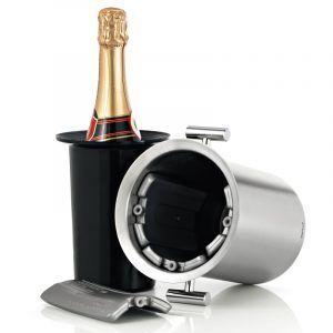 BLOMUS Охладител за бутилки шампанско / с 4бр.пълнители / LOUNGE