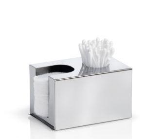 BLOMUS Кутия за почистващи тампони и клечки за уши NEXIO - полирана