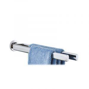 BLOMUS Двойна закачалка за кърпи AREO за стенен монтаж - полирана