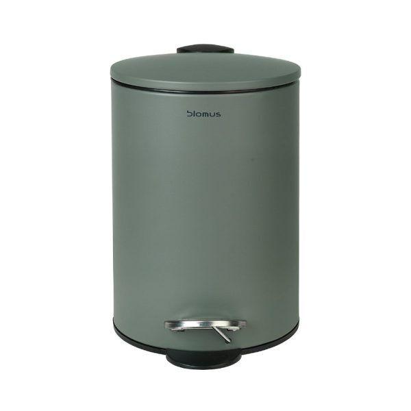 BLOMUS Кош за баня TUBO - тъмно зелен - 3 л