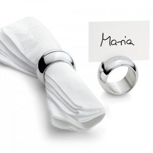 """PHILIPPI Комплект пръстени за салфетки """"MOON"""" - 4 бр."""