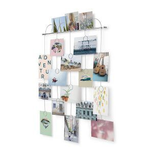 """UMBRA Фотодисплей за монтаж на стена """"TRICKLE""""  - за 18 снимки"""