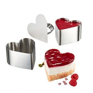 десерти и салати - сърце - 3 части