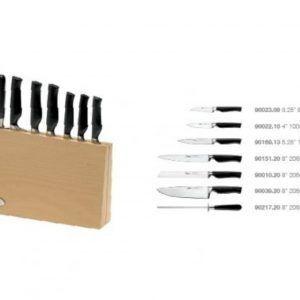 IVO Cutelarias Комплект ножове със стойка – 7 части