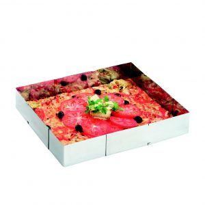 GEFU Правоъгълна  форма за торта или пица UNO