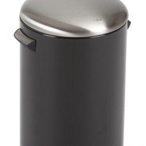 "EKO Кош за отпадъци с педал  ""BELLE DELUXE""- 12 литра - черен"