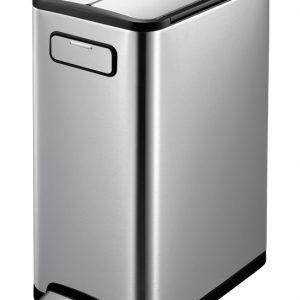 """EKO Кош за отпадъци с педал """"ECOFLY"""" - 45 литра - мат"""