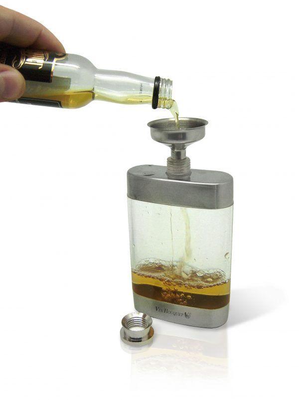 Vin Bouquet  Бутилка за алкохол с фунийка