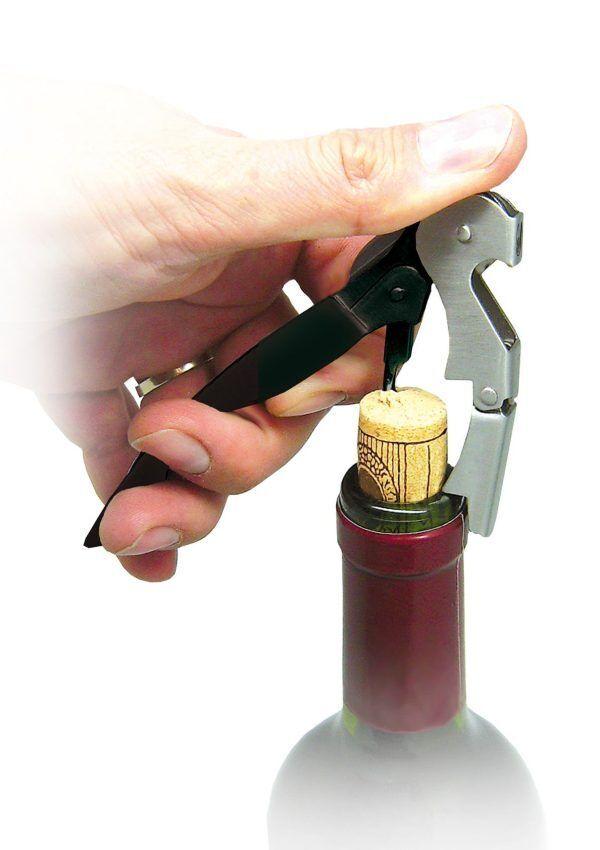 Vin Bouquet Професионален тирбушон с двоен лост