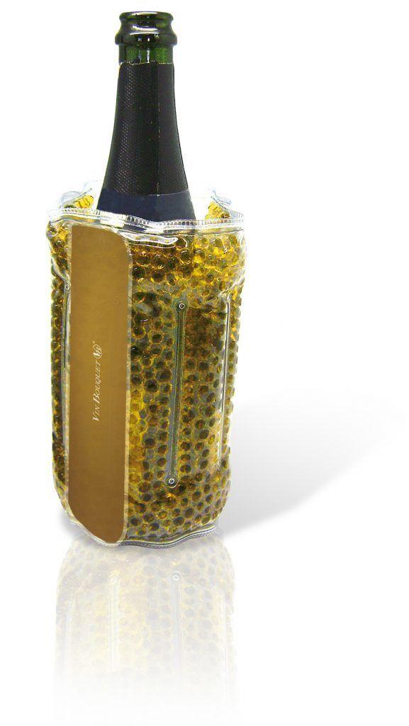 """Vin Bouquet Охладител за бутилки с топчета гел """"GOLD"""""""