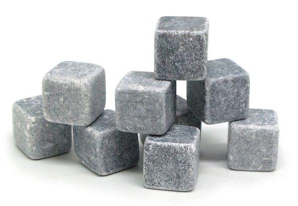 """Vin Bouquet Сет охладители за напитки от естествен камък """"STONE  ROCKS"""" - 9 бр."""