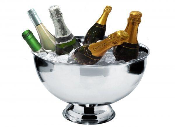 Vin Bouquet Стоманен охладител за бутилки - Ø 38 см