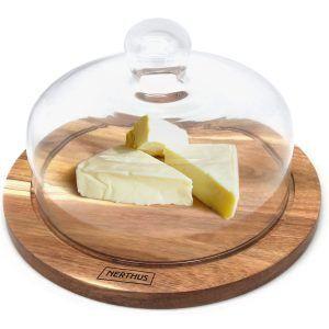 Vin Bouquet Плато за сирена със стъклен капак