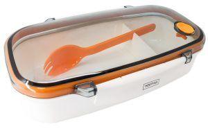 Nerthus Комплект кутия за храна с разделител и прибор - 850 мл.