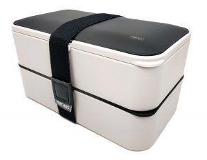 Nerthus Комплект херметически кутии за храна с прибори - 2 х 500 мл.