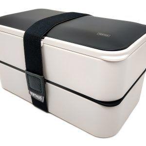 Vin Bouquet/Nerthus Комплект херметически кутии за храна с прибори - 2 х 500 мл.