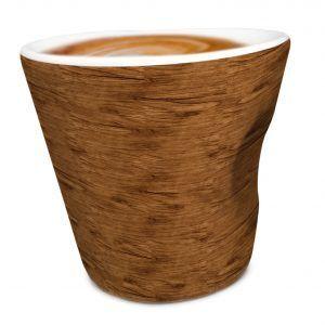 "Vin Bouquet Порцеланова чаша за кафе ""WOOD"" - 100 мл."