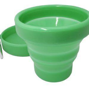 Vin Bouquet/ Nerthus Сгъваема силиконова чаша - 150 мл.