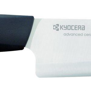 KYOCERA Нож за готвене - бяло острие/черна дръжка - 14 см.