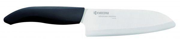 KYOCERA Универсален керамичен нож - бяло острие/черна дръжка - 14 см.