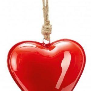 """PHILIPPI  Сувенир сърце """"HAMBURGER"""" - M размер - цвят светло червен"""
