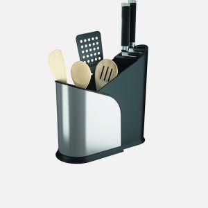 """UMBRA Поставка за кухненски прибори и ножове """"FURLO"""" - с регулиращ се размер"""
