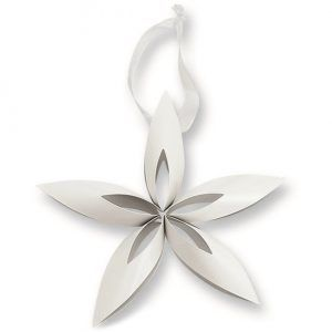 "PHILIPPI Коледна звезда ""STELLA"" - бяла"