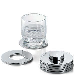 "PHILIPPI Метални подложки за чаши ""Rings"" - 7 части"