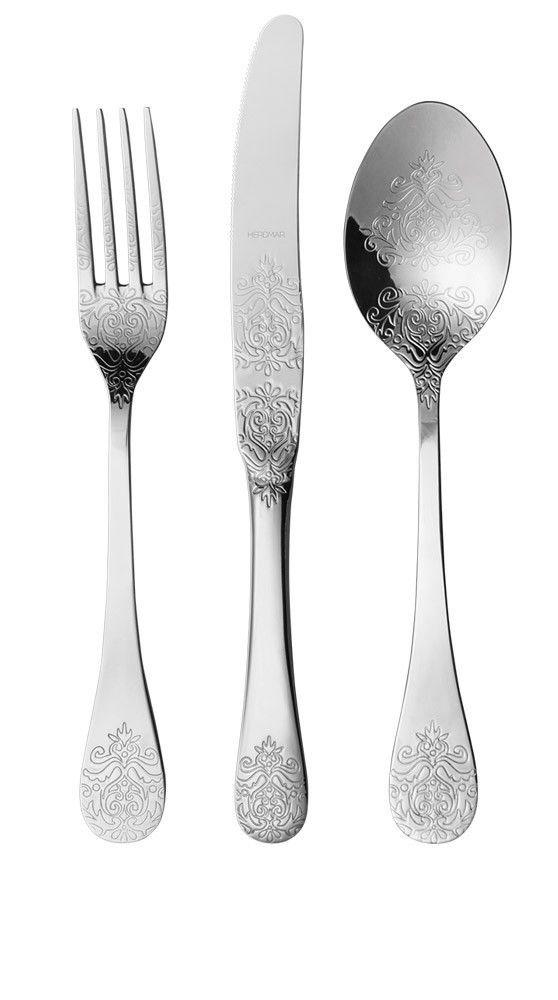 "HERDMAR Комплект прибори за хранене ""POMPADOUR"" - 51 части"