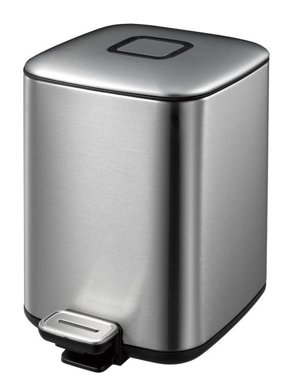 """EKO Кош за отпадъци с педал """"REGENT"""" - 6 литра - мат"""