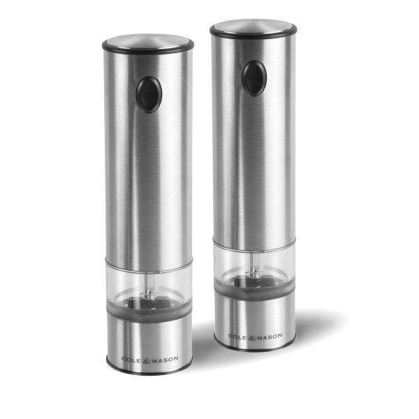 """COLE & MASON Комплект електрически мелнички за сол и пипер """"BATTERSEA"""" - 21 см."""