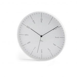 PHILIPPI  Стенен часовник CARA - цвят бял