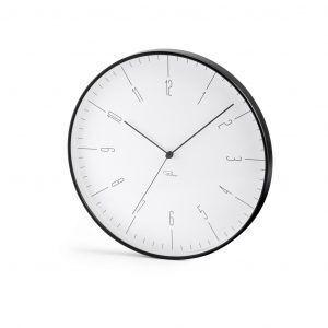 PHILIPPI  Часовник за стена CARA - цвят черен