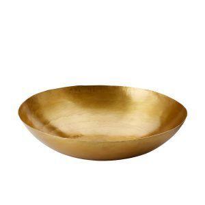 PHILIPPI  Купа / фруктиера PLATTER - размер S - цвят злато