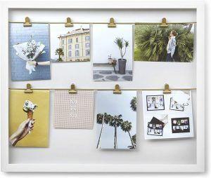 """UMBRA Колаж за снимки """"CLIPLINE"""" - цвят бял"""