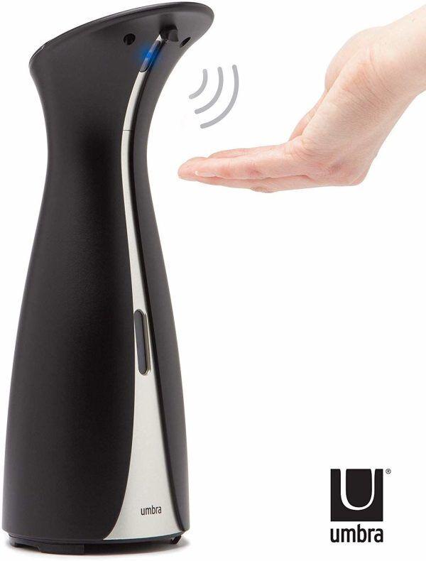 """UMBRA Сензорен диспенсър за сапун """"OTTO"""" - 250 мл - цвят черен"""