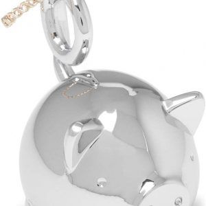 """UMBRA Поставка за пръстени """"SQUIGGY PIG"""" - прасе - цвят хром"""