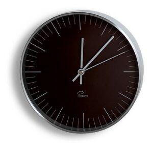 "PHILIPPI  Стенен часовник ""TEMPUS"" - цвят черен"