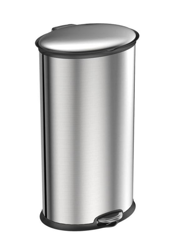 """EKO Кош за отпадъци с педал  """"ELLIPSE""""- 30 литра - мат"""