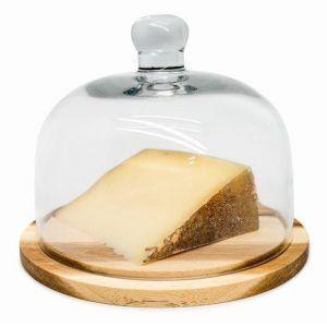 Nerthus Плато за сирена със стъклен капак