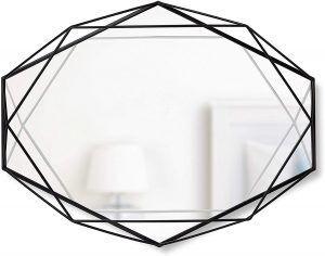 """UMBRA Огледало за стена """"PRISMA"""" - цвят черен"""